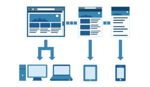 Responsive website development by make any website